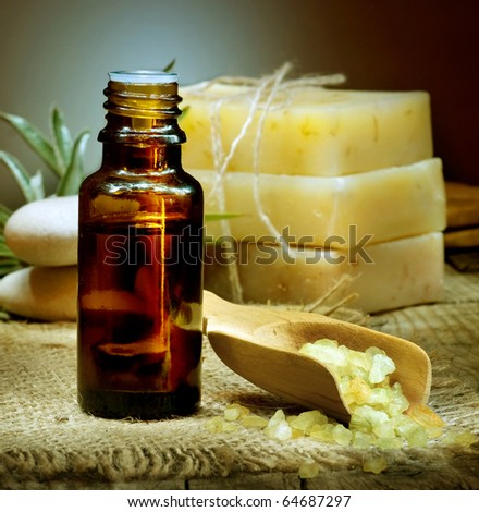 Spa Essential Oil. Aromatherapy. - stock photo