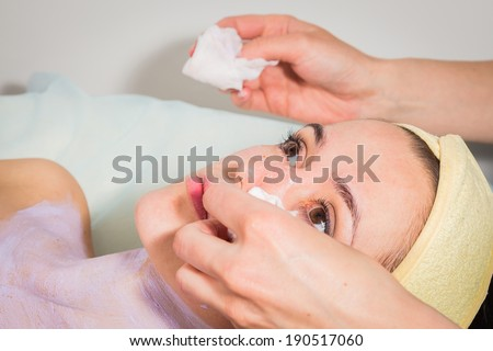 spa facial procedure