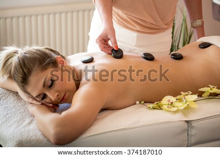 Spa Hot Stone Massage