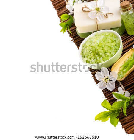 Spa isolated on white background - stock photo