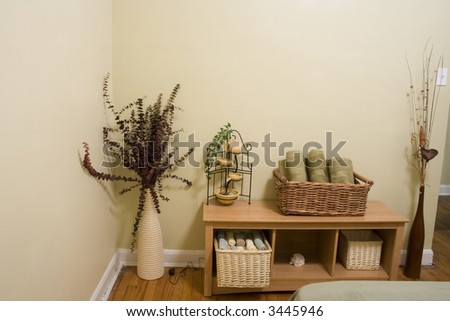 Spa Room - stock photo