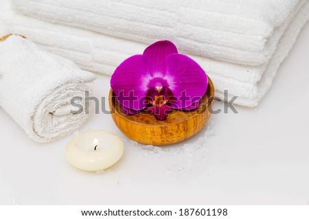 spa sitting - stock photo