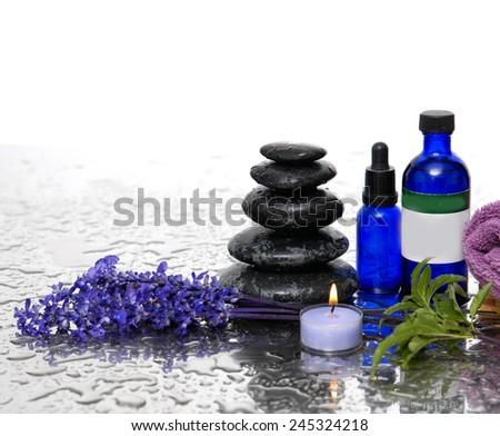 spa still life  - stock photo