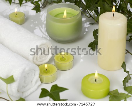 Spa still life - stock photo