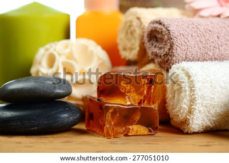 spa therapy - stock photo