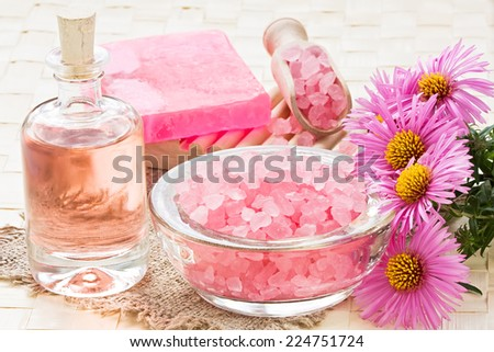 SPA treatment set  - stock photo