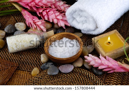 spa treatments and relaxation with accessories for spa