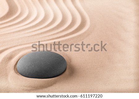 Wellness background  Spa Wellness Treatment Background Sand Stone Stockfoto (Lizenzfrei ...