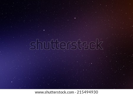 Space background with nebula.    - stock photo