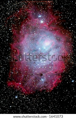 Space Cloud - stock photo