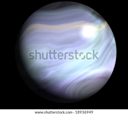 space science background texture sphere