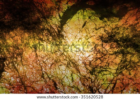 Space-Time Microstructure  Background for Custom Scientific Content - stock photo