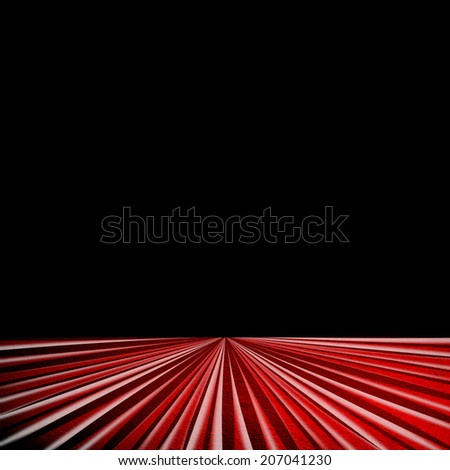 space with stripe pattern  - stock photo