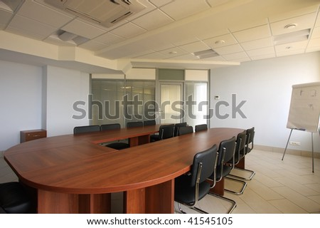 Spacious hall for holding conferences