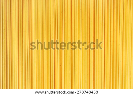 Spaghetti italian pasta background, close-up - stock photo
