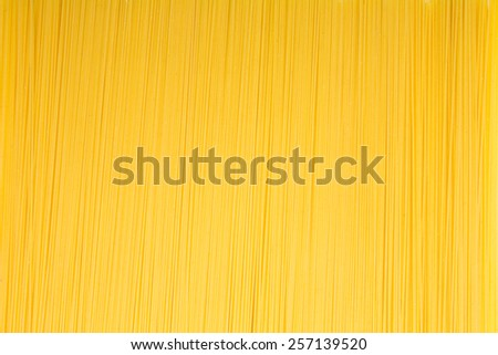 Spaghetti noodles pattern background - stock photo