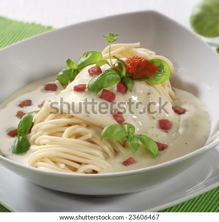Pasta Cream Sauce Stock Photos, Images, & Pictures | Shutterstock