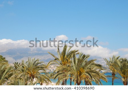 Spain, Costa Blanca, Beautiful clear mediterranean water