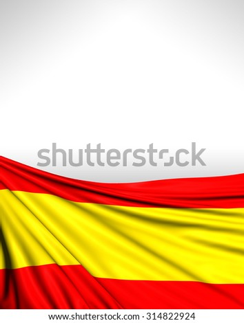 Spain Flag, Spanish Background