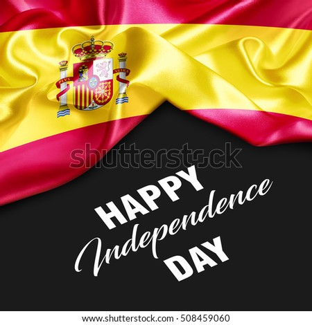 Spain Happy Independence Day