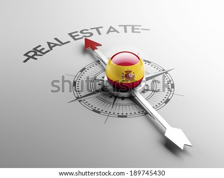 Spain High Resolution Real Estate Concept - stock photo