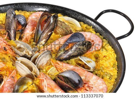 Spanish food. - stock photo