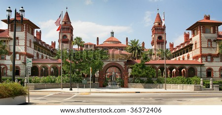 Spanish Historical Building St Augustine Florida