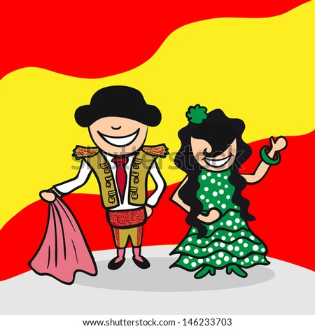 Spanish Cartoon Stock Images, Royalty-Free Images & Vectors ...