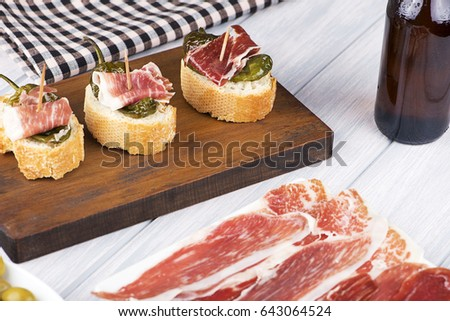 Iberian Pig Restaurant Week Menu