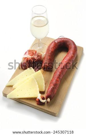spanish traditional tapas - stock photo