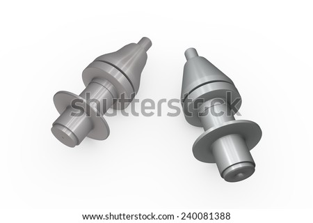 Spare parts for milling machine