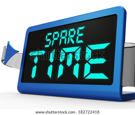 Spare time stock images royalty free images vectors shutterstock - Spare time gadgets ...