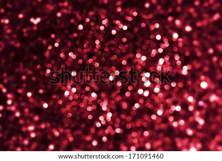 sparkle deep red background - stock photo