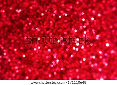 sparkle red  background - stock photo