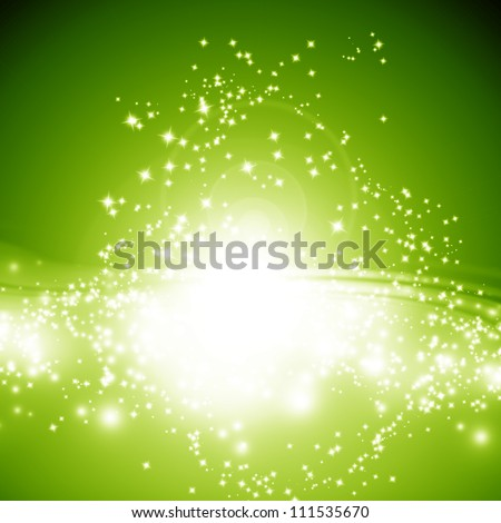 Sparkling background with intense glowing sparkles and glitter - stock photo