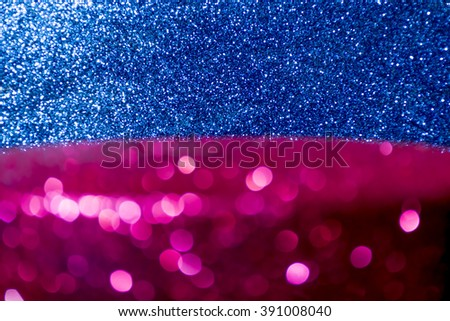 Sparkling Lights Festive background with texture. Abstract Christmas twinkled bright background with bokeh defocused lights and Falling stars. Winter background. Card or invitation. - stock photo