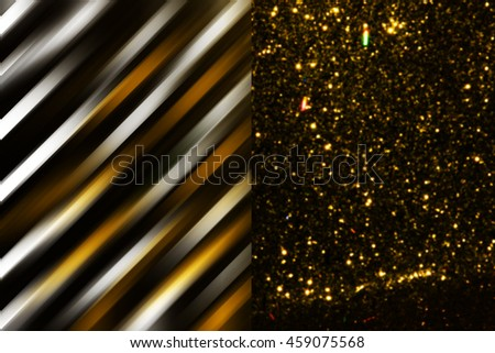Sparkling Lights Festive background with texture. Abstract Christmas twinkled bright background with bokeh defocused lights - stock photo