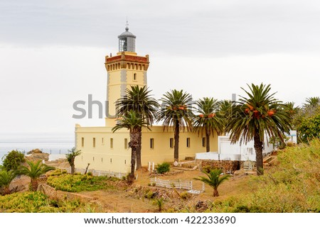 Spartel lighthouse of Tangier, a major city in northern Morocco. It is the capital of the Tanger-Tetouan-Al Hoceima Region and of the Tangier-Assilah prefecture of Morocco.