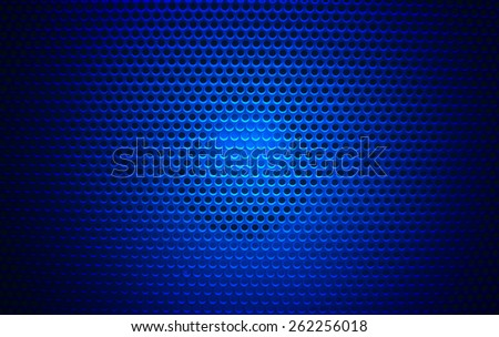 Speaker grill texture black - stock photo