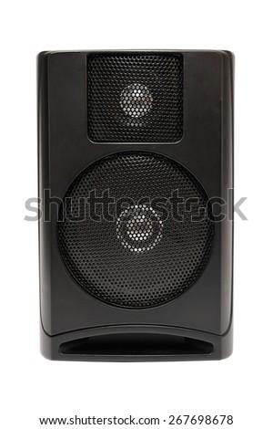 speaker on isolated background - stock photo