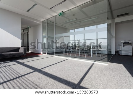 Special conference room in a business centre