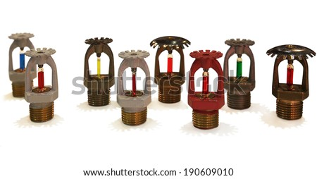 Special Equipment for Automatic Fire - Sprinklers - stock photo