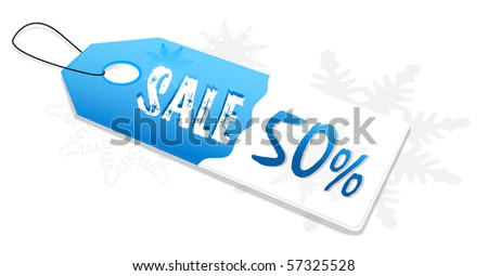 special offer sales labels - stock photo