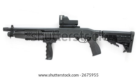 special pump riffle - stock photo