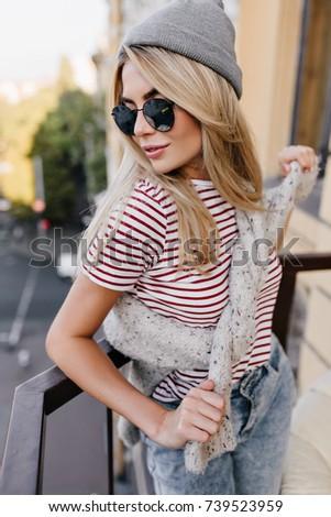 Look Down Girl Shirt