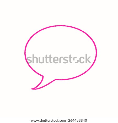 Speech Bubble - stock photo