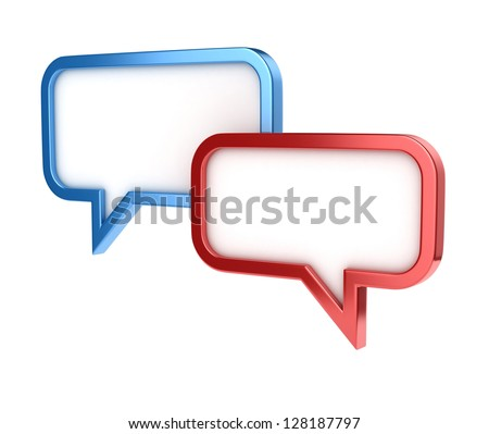 speech bubbles - conversation chat texting icon