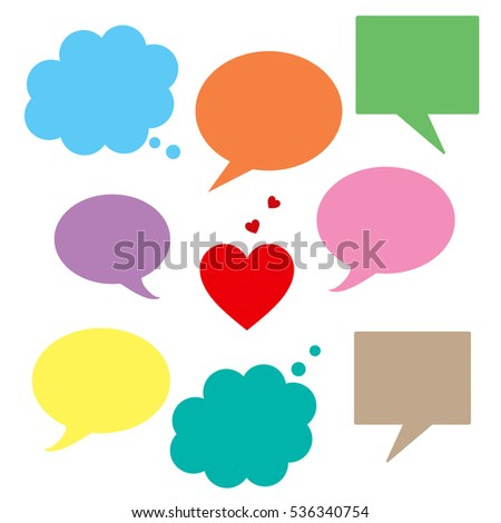 Speech Bubbles - Variety