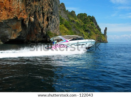 Speed Boat Ride in Thailand