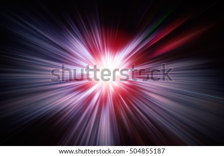 SPEED LIGHT BACKGROUND, BURSTING FLASHLIGHT